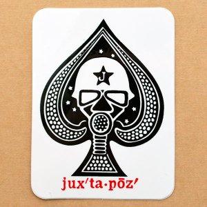 画像1: ステッカー/シール Juxtapoz Spade
