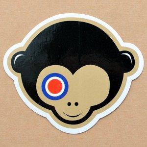 画像1: ステッカー/シール ターゲットモンキー Target Monkey