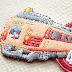画像2: 鉄道/電車 トレインワッペン 485系雷鳥