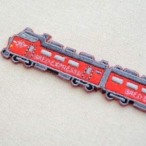 画像3: 鉄道/電車 トレインワッペン2 485系レッドエクスプレス(2枚組)