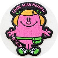 ミスターメン・リトルミス(Mr.Men Little Miss)ワッペン・アップリケ・グッズ