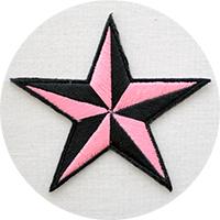 星・スターstarワッペン・アップリケ・グッズ