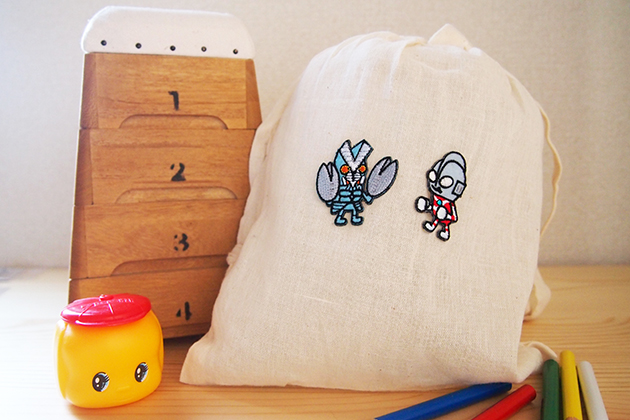 Wappen Tsuburaya Pro Ultraman by Panson Works / ワッペン 円谷プロ ウルトラマンbyパンソンワークス(シール/アイロン両用)