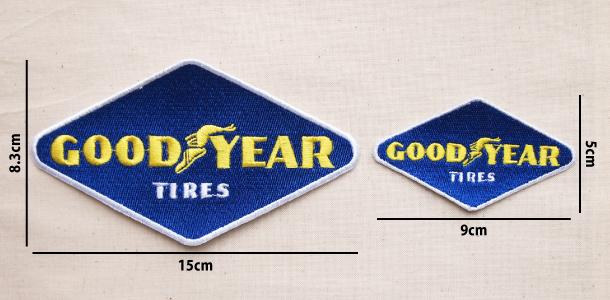 Wappen Goodyear Diamond (2size) / ワッペン グッドイヤー ダイヤモンド/ひし形 (全2サイズ)